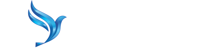 White BlueBird Logo